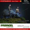 VIETNAMESE water Buffalo  Boy
