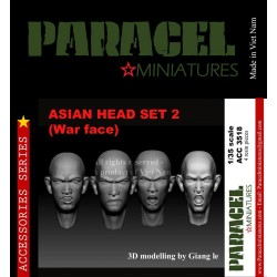 ASIAN HEAD SET 1 ( NORMAL FACE)