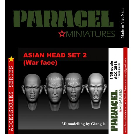 ASIAN HEAD SET 1 ( NORMAL FACE)