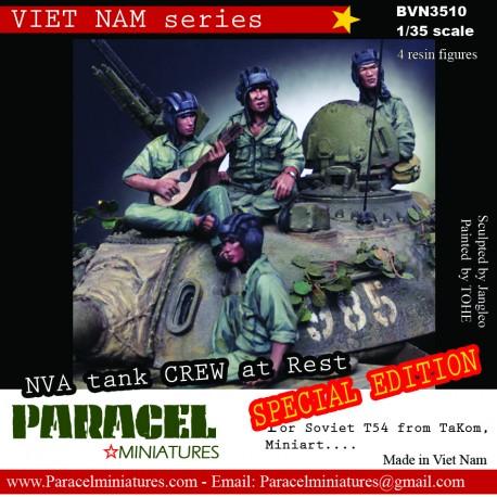NVA Tank riders & Commander (Special Edition)