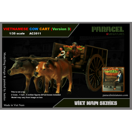VIETNAMESE COW CART ver 2